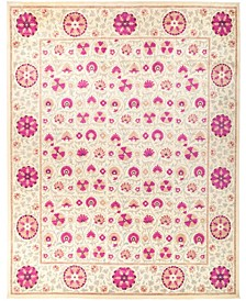 """CLOSEOUT! One of a Kind OOAK2789 Red 12'3"""" x 15'3"""" Area Rug"""