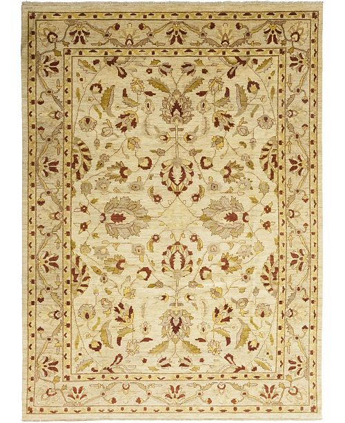"Timeless Rug Designs One of a Kind OOAK55 Flax 9'9"" x 13'6"" Area Rug"