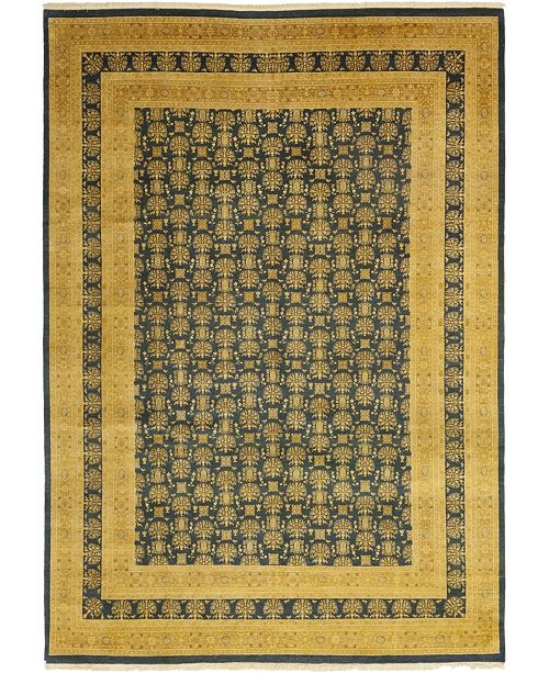 "Timeless Rug Designs CLOSEOUT! One of a Kind OOAK75 Flax 10'1"" x 14'2"" Area Rug"