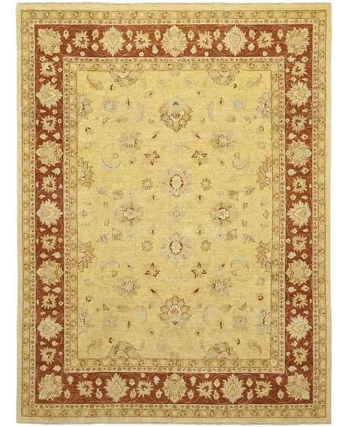 """Timeless Rug Designs CLOSEOUT! One of a Kind OOAK136 Flax 9' x 12'2"""" Area Rug"""