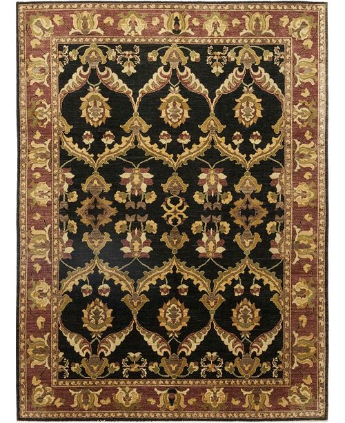 """Timeless Rug Designs CLOSEOUT! One of a Kind OOAK145 Onyx 8'4"""" x 11'3"""" Area Rug"""