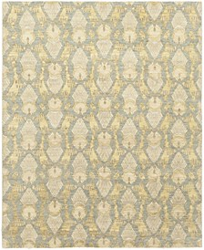 "CLOSEOUT! One of a Kind OOAK301 Yellow 8'2"" x 10'1"" Area Rug"