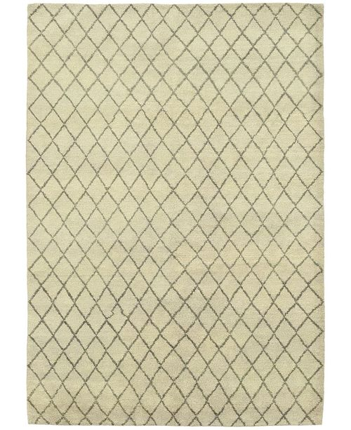 """Timeless Rug Designs CLOSEOUT! One of a Kind OOAK311 Beige 6'5"""" x 9' Area Rug"""