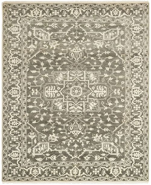 "Timeless Rug Designs One of a Kind OOAK406 Mist 8'4"" x 10'2"" Area Rug"