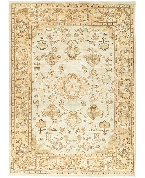 """Timeless Rug Designs CLOSEOUT! One of a Kind OOAK427 Ivory 10' x 13'8"""" Area Rug"""