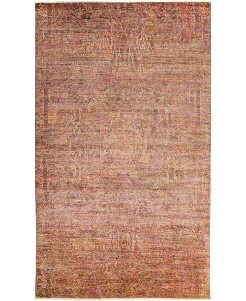 Timeless Rug Designs CLOSEOUT! One of a Kind OOAK466 Rose 6' x 10' Area Rug