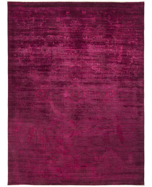 """Timeless Rug Designs CLOSEOUT! One of a Kind OOAK743 Pink 9' x 11'9"""" Area Rug"""