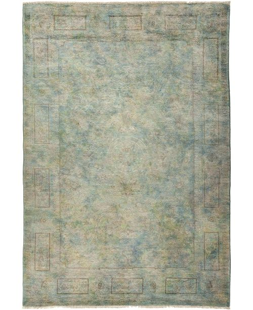 "Timeless Rug Designs CLOSEOUT! One of a Kind OOAK787 Multi 6'1"" x 8'10"" Area Rug"