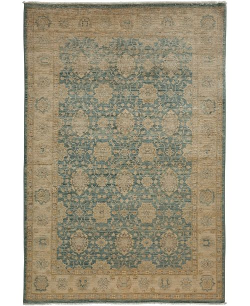 """Timeless Rug Designs CLOSEOUT! One of a Kind OOAK3428 Sage 5'8"""" x 8'9"""" Area Rug"""