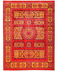 """CLOSEOUT! One of a Kind OOAK3003 Red 8'10"""" x 11'10"""" Area Rug"""