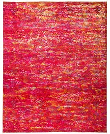 """CLOSEOUT! One of a Kind OOAK2950 Pink 7'10"""" x 9'10"""" Area Rug"""