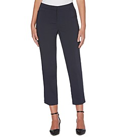 Women's Lightweight Satin Twill Ankle Pant