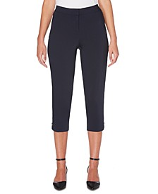 Women's Lightweight Satin Twill Capri