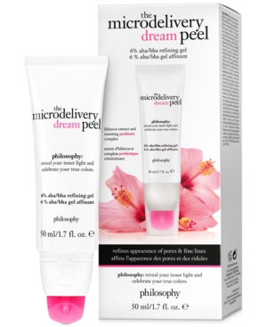 philosophy The Microdelivery Dream Peel Face Mask, 1.7-oz.