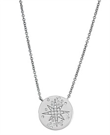 Starry Night Diamond (1/8 ct. t.w.)  Necklace in 14K White Gold