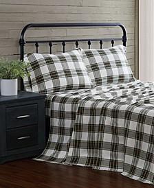 4-Piece Flannel Full Sheet Set