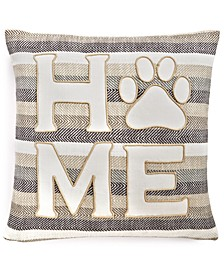 "Home 20"" x 20"" Decorative Pillow"