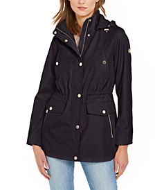 Petite Hooded Anorak Jacket