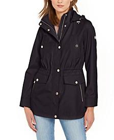 Petite Hooded Anorak Jacket