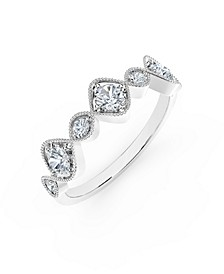 Tribute™ Collection Diamonds (3/8 ct. t.w.) Ring  in 18k Yellow, White and Rose Gold