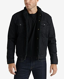 Men's Sherpa Denim Jacket