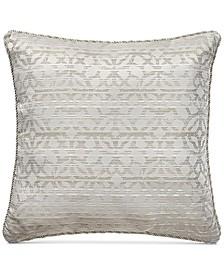 "Astrid Jacquard 20"" x 20"" Decorative Pillow"