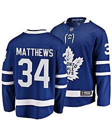 Men's Auston Matthews Toronto Maple Leafs Breakaway Player Jersey