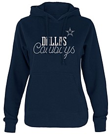 Women's Dallas Cowboys Bling Pullover Hoodie