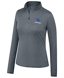 Women's Kentucky Wildcats Motion Quarter-Zip Pullover