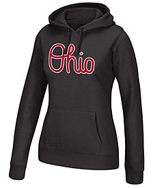 Women's Ohio State Buckeyes Essential Fleece Hooded Sweatshirt