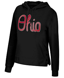 Women's Ohio State Buckeyes Snap Hem Hooded Sweatshirt