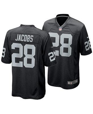 Nike Men's Josh Jacobs Las Vegas Raiders Game Jersey & Reviews - Sports Fan Shop By Lids - Men - Macy's