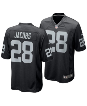 Nike Men's Josh Jacobs Oakland Raiders Game Jersey