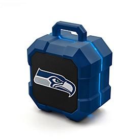 Prime Brands Seattle Seahawks Shockbox LED Speaker