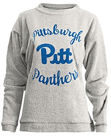 Women's Pittsburgh Panthers Comfy Terry Sweatshirt
