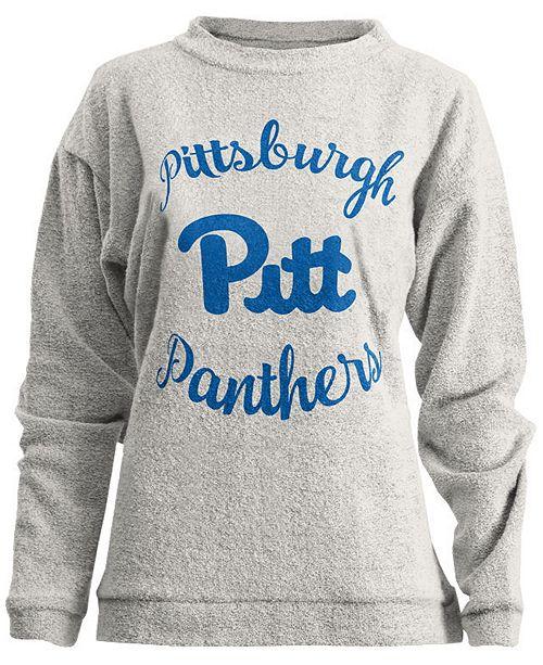 Pressbox Women's Pittsburgh Panthers Comfy Terry Sweatshirt