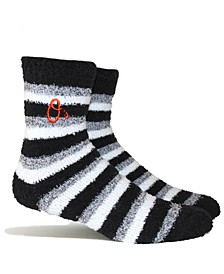 Baltimore Orioles Fuzzy Steps Socks