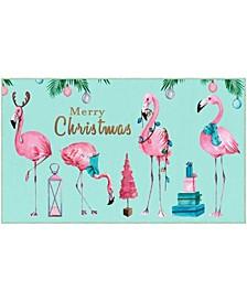 "Merry Flamingos Accent Rug, 18"" x 30"""