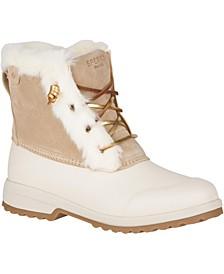 Women's Maritime Repel Suede Boots