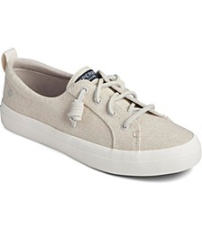 Women's Crest Vibe Sparkle Linen Sneakers