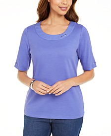 Cotton Ring Top, Created for Macy's