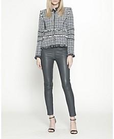 Navy Tweed Chanel Jacket