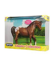 Classics Chestnut Appaloosa Model Horse