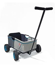 Eco Uno Multipurpose Fold-Up Ride on Wagon - Stone