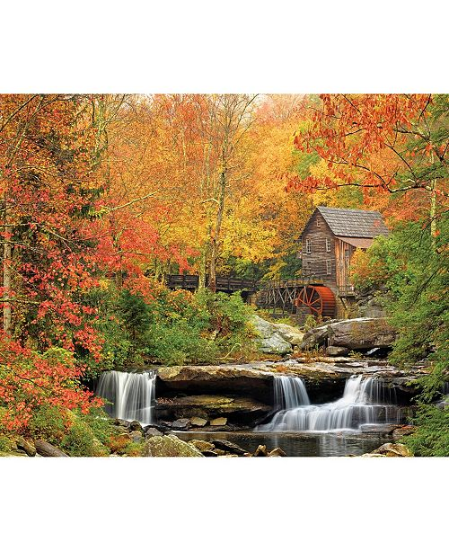 White Mountain Puzzles Old Grist Mill - 1000 Piece Jigsaw Puzzle