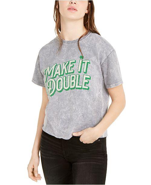 True Vintage Make It Double Graphic T-Shirt