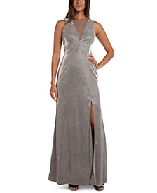 Glitter Illusion Gown