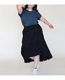 Women's Plus Size Easy Breezy Maxi Skirt