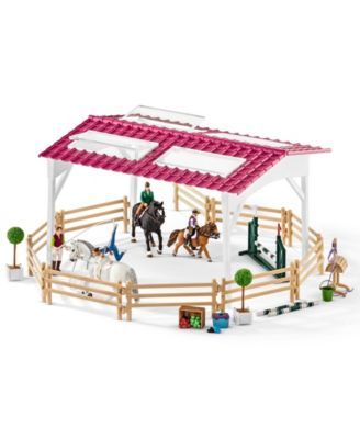 Schleich Horse Club Riding School with Horses and Riders Toy Figure