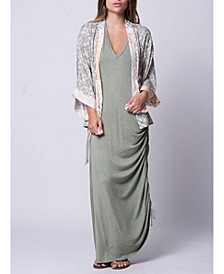 Mini Length Moroni Mixed Kimono